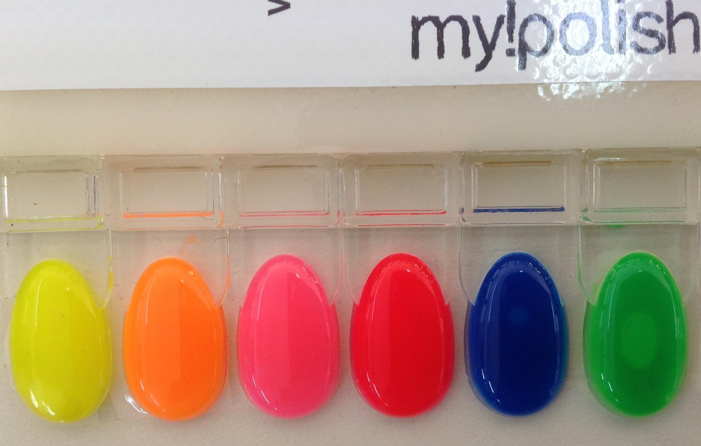 Makeupnails for Colori fluo